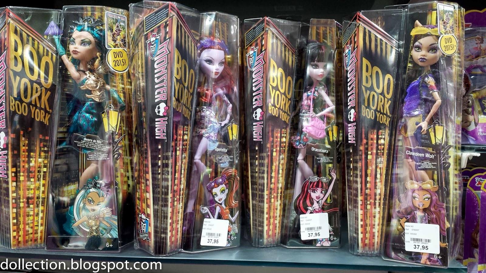 Doll hunting in geneva switzerland manor king jouet globus migros and franz carl weber - Monster high king jouet ...