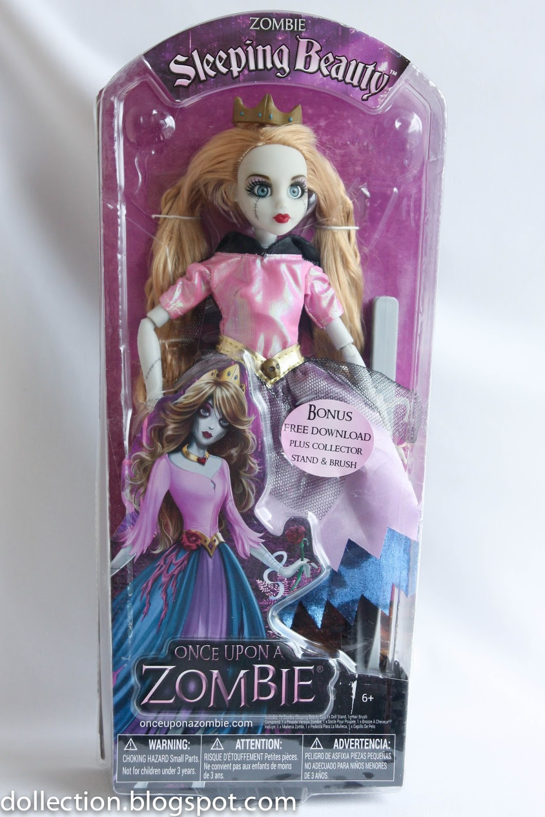 NEW* Once Upon A Zombie Sleeping Beauty Doll