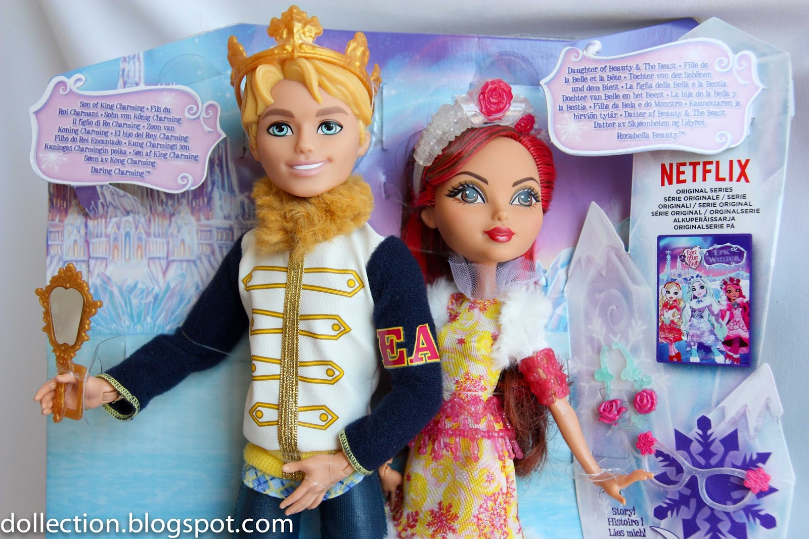 EVER AFTER HIGH DARLING CHARMING DAUGHTER OF KING CHARMING DOLL NEW IN BOX